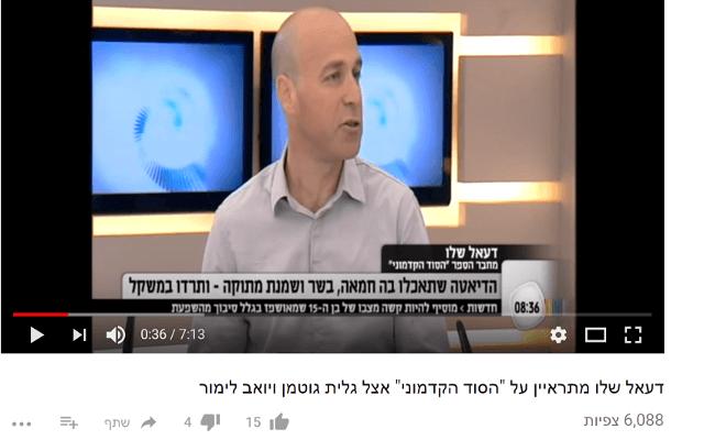 ראיון בתכנית הבוקר של גלית גוטמן ויואב לימור